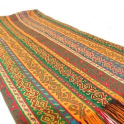 Tissu bohème déco ottoman Phasis 2m, design oriental (jaune, rouge, vert...)