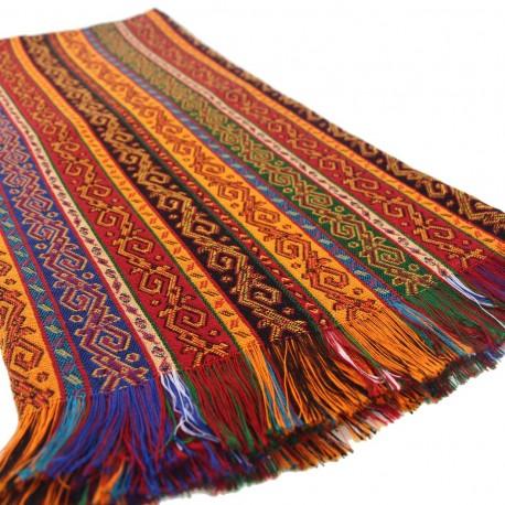 Tissu oriental décoratif Batys 2m, design exotique ethnique coloré