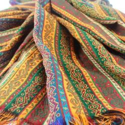 Tissu oriental Phasis 1m40, oriental decor (jaune, rouge, vert...)