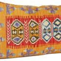 Grand coussin ethnique Comana rouge
