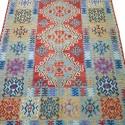 Tapis kilim coloré K7