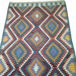 Tapis kilim décoratif coloré K13