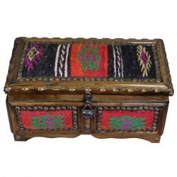 Coffret à bijoux original en kilim Ifios
