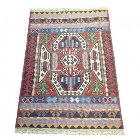 Tapis oriental fait main en kilim artisanal S20