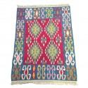 Petit tapis kilim multicolore C39