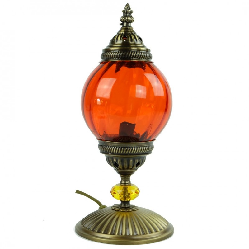 Lampe De Chevet Orange Akaia