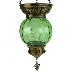 Lanterne orientale verte Kirisha
