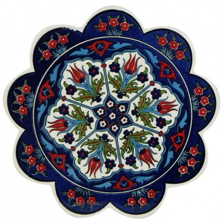 Dessous de plat en céramique Tahira