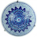 Plafonnier oriental Eshtan bleu