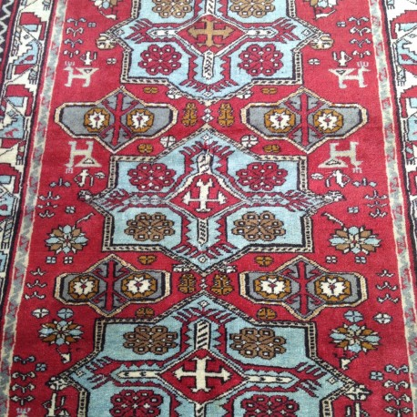 Tapis oriental turc Oushak B03 pour une décoration bohème chic