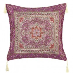 Coussin oriental Lycia violet