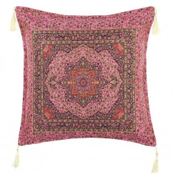 Coussin oriental Lycia rose