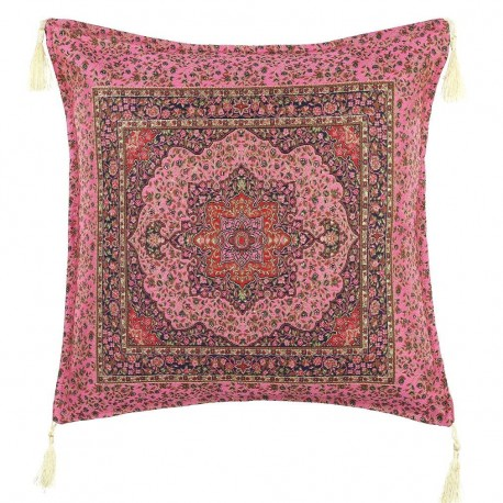 Coussin rose oriental Lycia