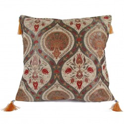 Coussin oriental Cilicia beige
