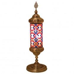 Lampe colonne en mosaique Karabia
