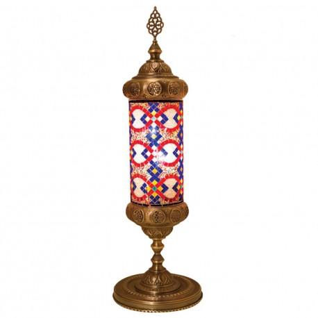 Lampe colonne mosaique bohème Karabia
