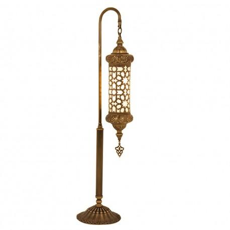 Lampadaire décoratif oriental en laiton Darius