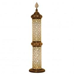 Lampe orientale en colonne Teipsès