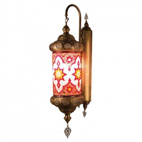 Applique style oriental en laiton et mosaique Regia