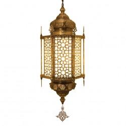 Grand lustre marocain en laiton Byfnès