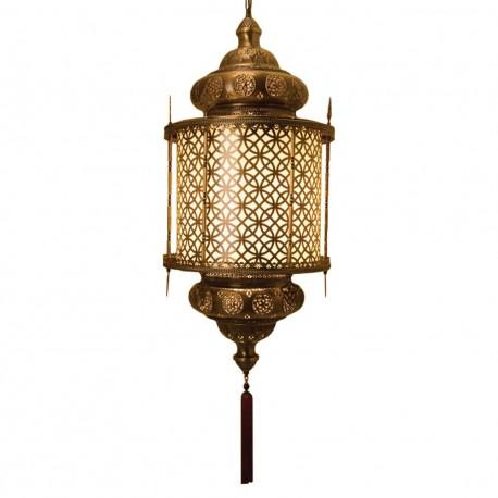 Lustre ottoman impérial en laiton Eshpum