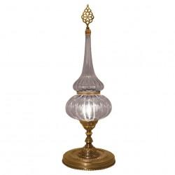 Lampe en verre strié Roxelane