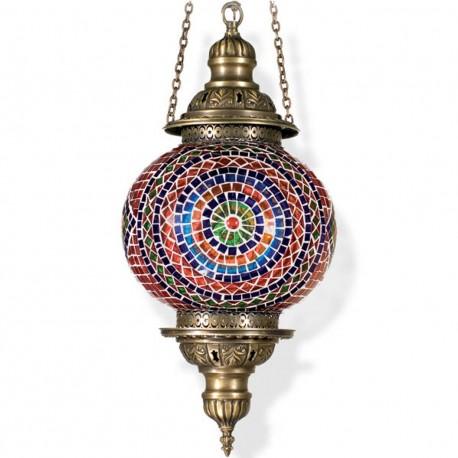 Lampe féérique orientale en mosaique Maguia