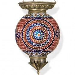 Grande lampe orientale en mosaique Astoria