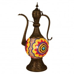 Lampe originale merveilleuse multicolore Esmeralda