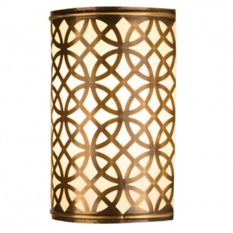 Applique marocaine en laiton Rania, décoration orientale