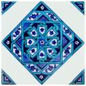 Carreau marocain bleu Eolis 20x20