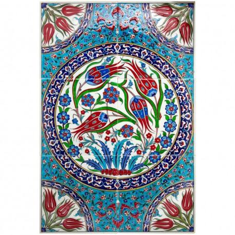 Tableau en céramique orientale Jaïa 20x40