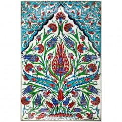 Tableau coloré en céramique Oustamia 40x60