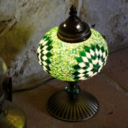 Lampe d'ambiance verte Idia