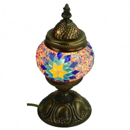 Petite lampe multicolore Jaria