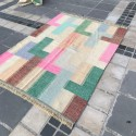 Tapis Patchwork Multiocolore S09