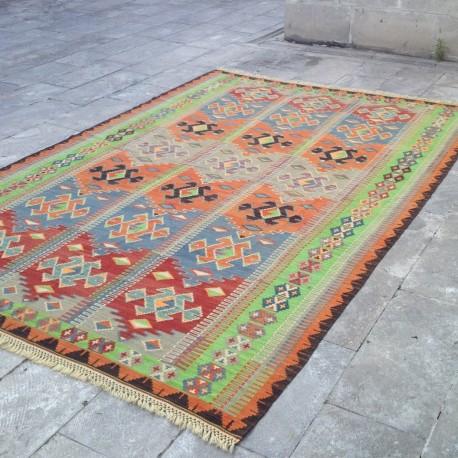 Grand Tapis Kilim Bohème T01