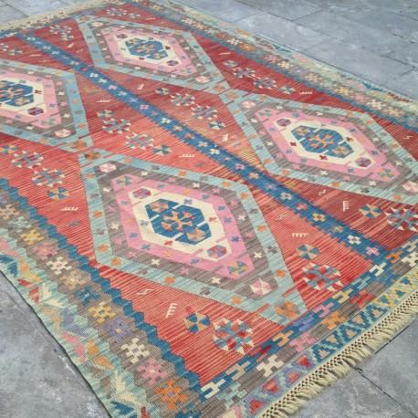 Grand Tapis Oriental en Kilim T02