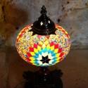 Lampe de chevet déco en mosaïque Ashnan
