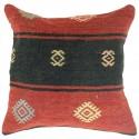 Coussin décoratif en kilim Kolon C027