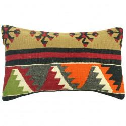 Coussin ethnique en laine Lumbar C030