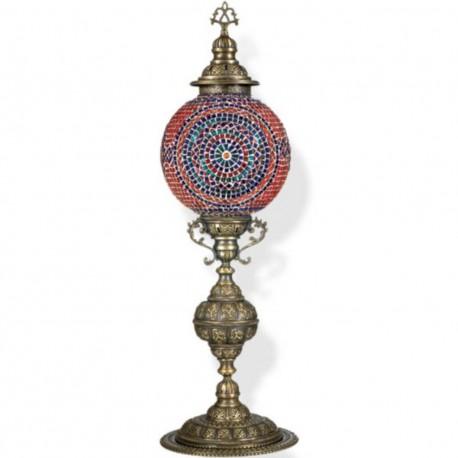 Lampadaire ethnique oriental en mosaïque Harassah