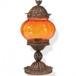 Lampe filigrane Shiri orange