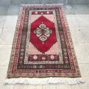 Tapis rouge vintage A013