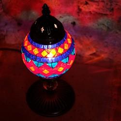 Lampe de chevet colorée Atma