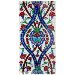 Carreaux pour Fresque Fleurie Deneri 20x40