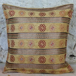 Coussin Thracia Jaune Moutarde
