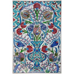 Tableau de faïence turque Brabia 40x60