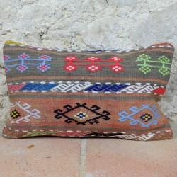 Coussin ethnique décoratif Lumbar E002
