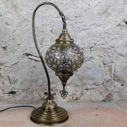 Lampe orientale en col de cygne Marmara